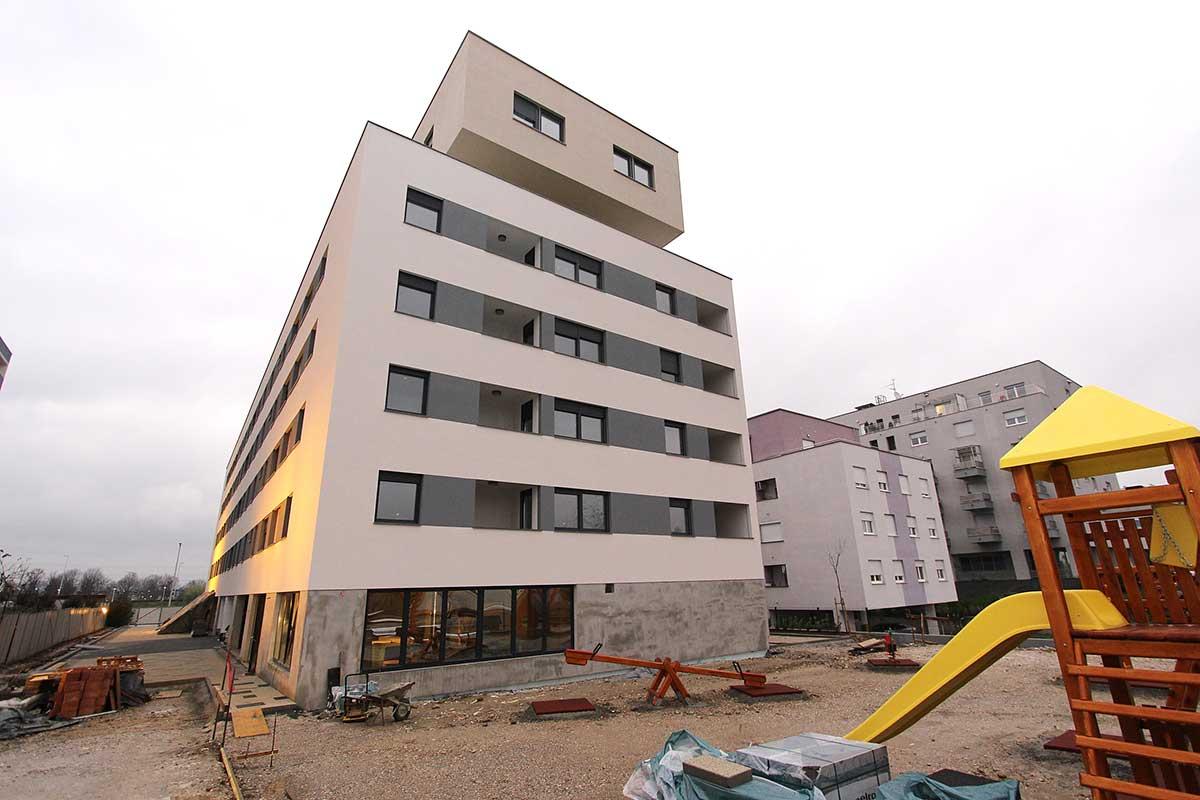 Zgrada Lanište Zagreb